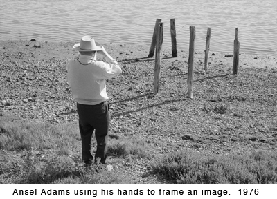 Ansel Adams, Ansel Adams Autobiography,