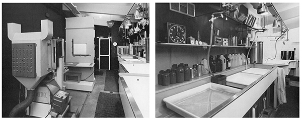 Ansel Adams' darkroom, alan ross,
