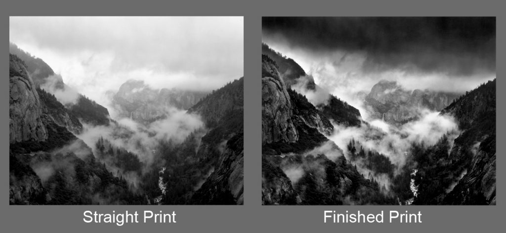 Ansel Adams, Bridalveil in Storm, alan ross